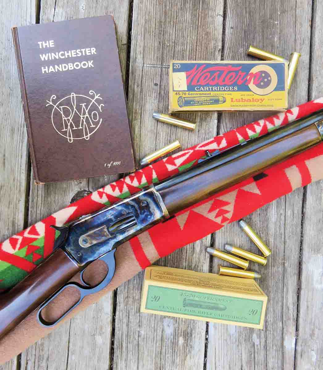 The Pedersoli Model 1886 Sporting Classic rifle in .45-70