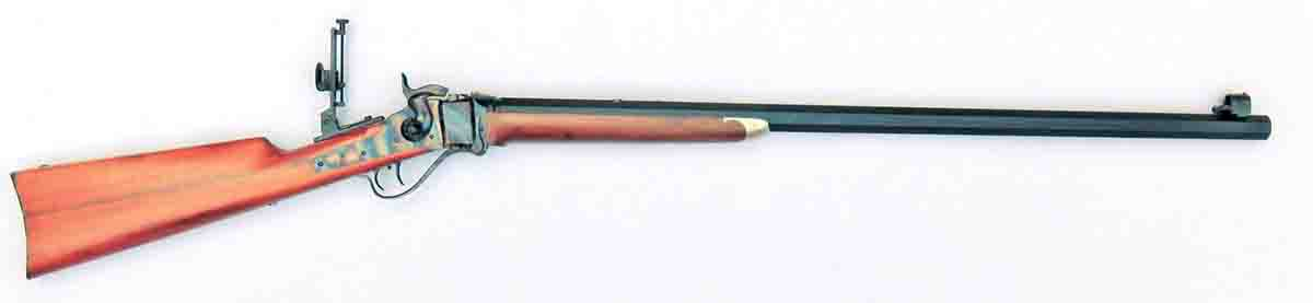 "The C. Sharps Arms Model '74 Hartford in .44-70 with a heavy 32"" barrel."
