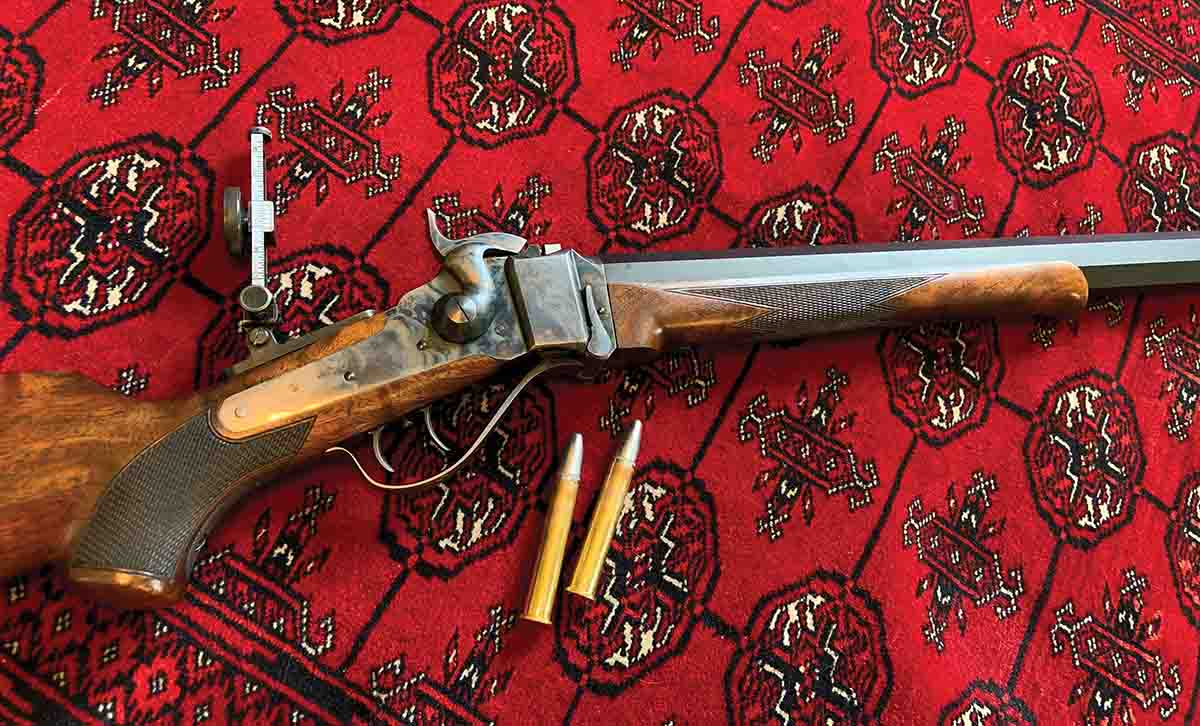 Shiloh Sharps .45-90 rifle that started the search for the proper bullet temper.