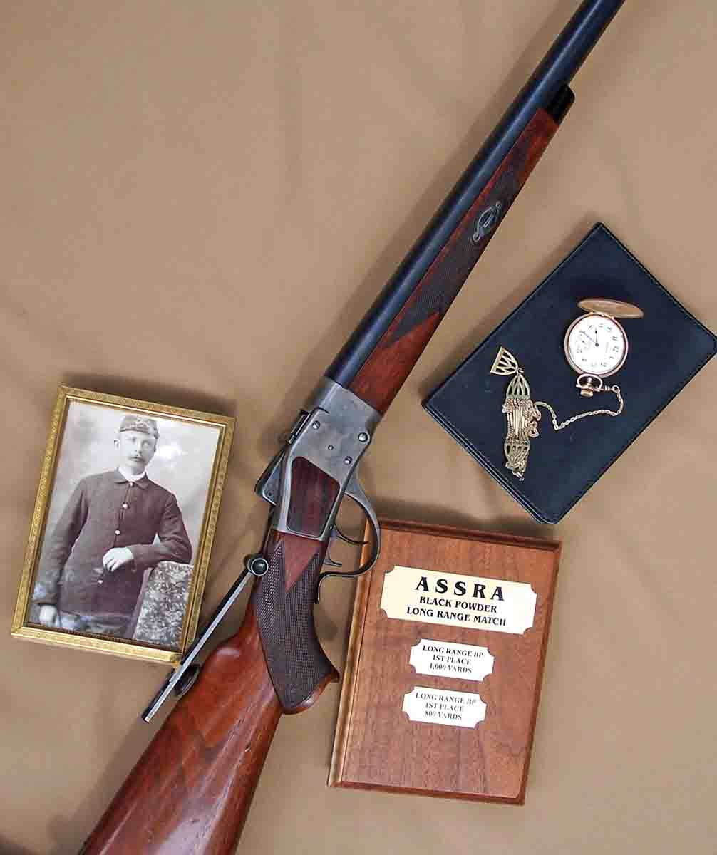 The Sharps Borchardt Long Range Rifle owned by Albert F. Mitchell.