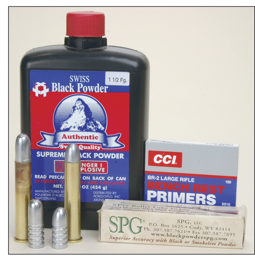 SPG Bullet Lubricant was developed specifically for black powder cartridge shooting.